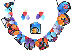 Reversible Necklace Set